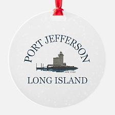 Port Jefferson - Long Island. Ornament