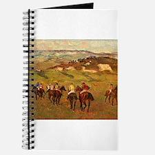 degas horse racing art Journal