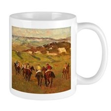 degas horse racing art Mugs