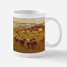 degas horse racing art Mugs