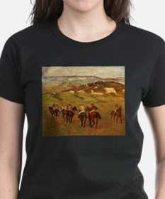 degas horse racing art T-Shirt