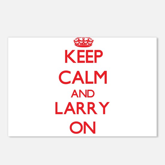 Keep Calm and Larry ON Postcards (Package of 8)