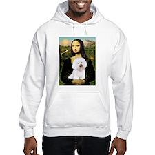Mona Lisa (new) & Bichon Frise 1 Hoodie