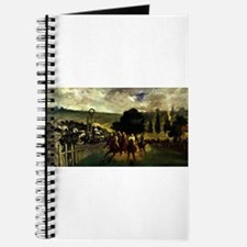 horse racing art by manet Journal