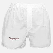 Radiographer Artistic Job Design Boxer Shorts