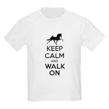 Keep Calm and Walk On Light T-Shirt
