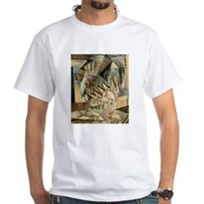 Rush Hour by Max Weber Vintage Cubism T-Shirt