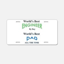 Cute Fathers day Aluminum License Plate