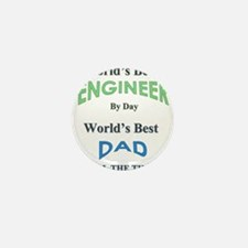 Cute Fathers day Mini Button (100 pack)
