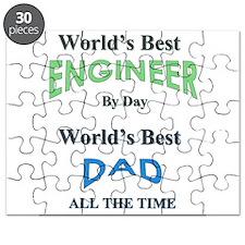 Unique World's best dad Puzzle