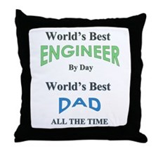Cute Fathers day Throw Pillow
