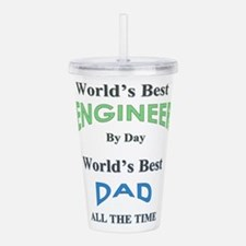 Unique Fathers day Acrylic Double-wall Tumbler