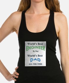 Unique Fathers day Racerback Tank Top