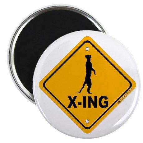 """Meerkat X-ing 2.25"""" Magnet (10 pack)"""