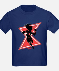 The Avengers Black Widow T