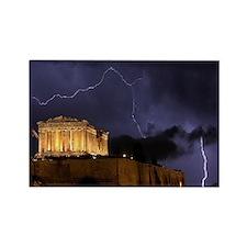 Greece Rectangle Magnet