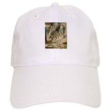Rush Hour by Max Weber Vintage Cubism Baseball Cap