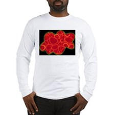 Bean Cloud ~ Men's Long Sleeve T-Shirt
