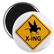 """Pegasus X-ing 2.25"""" Magnet (100 pack)"""