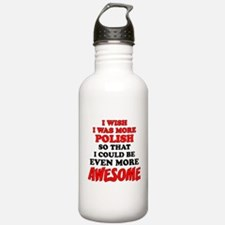 More Polish More Awesome Water Bottle