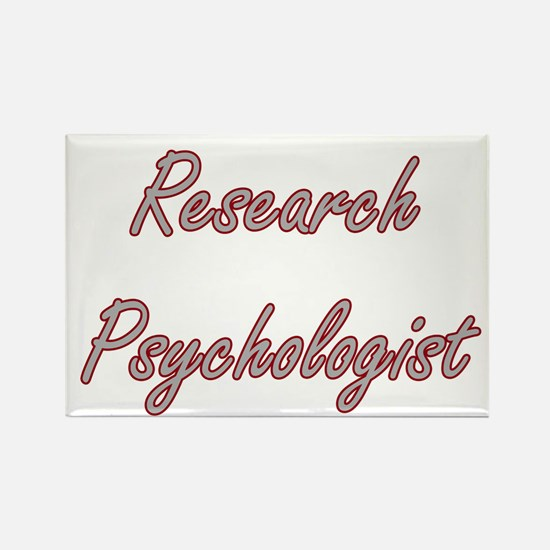 Research Psychologist Artistic Job Design Magnets