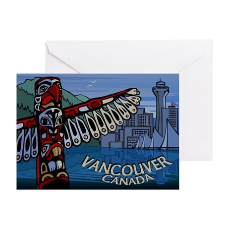 Vancouver BC Souvenir Greeting Cards 20 pack