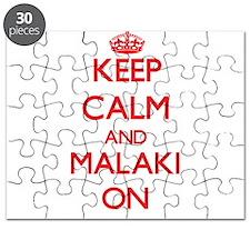 Keep Calm and Malaki ON Puzzle
