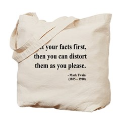 Mark Twain 27 Tote Bag