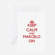 Keep Calm and Marcelo ON Greeting Cards