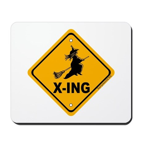 Witch X-ing Mousepad