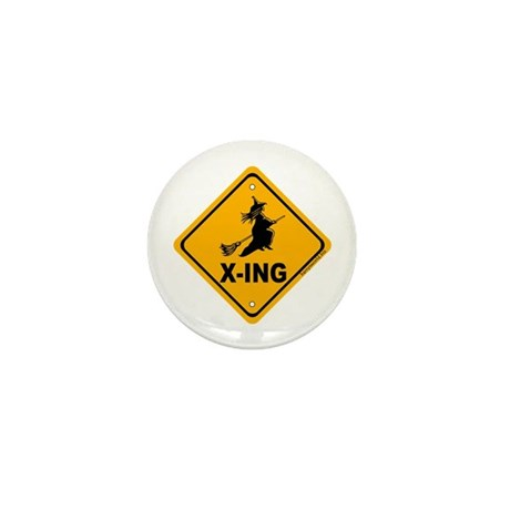 Witch X-ing Mini Button (10 pack)