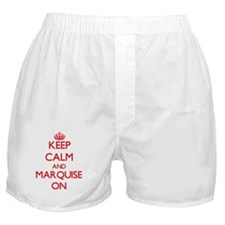 Keep Calm and Marquise ON Boxer Shorts
