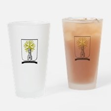 Rodriguez Crest Drinking Glass