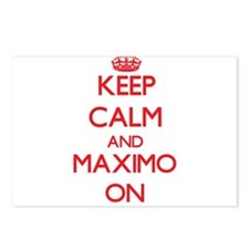 Keep Calm and Maximo ON Postcards (Package of 8)