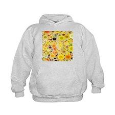 summer yellow circles sunflower Hoodie