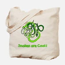Snakes are Cool Tote Bag