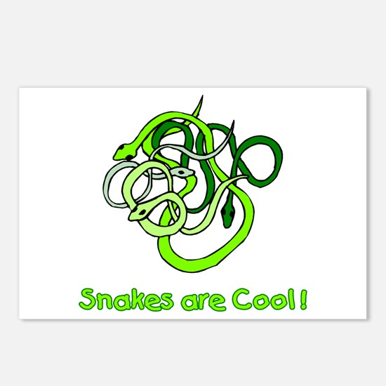 Snakes are Cool Postcards (Package of 8)