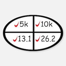 Marathon goals Decal