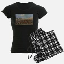 thoroughbred horse racing art Pajamas