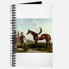 thoroughbred horse racing art Journal