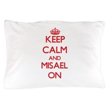 Keep Calm and Misael ON Pillow Case