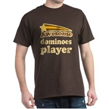 Awesome Dominoes Player T-Shirt