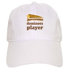 Awesome Dominoes Player Baseball Cap