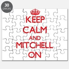 Keep Calm and Mitchell ON Puzzle