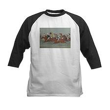 thoroughbred horse racing art Baseball Jersey