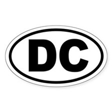 Washington, D.C. Oval Decal