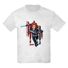 The Avengers Black Widow: Runni T-Shirt