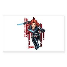 The Avengers Black Widow: Runn Decal
