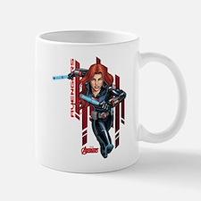 The Avengers Black Widow: Running Mug