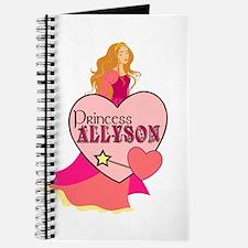 Princess Allyson Journal
